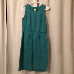 00 J.Crew Seafoam Green Sheath Dress